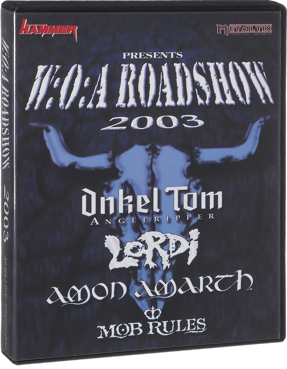 Содержание: 01. One Day On The Road 02. Soundcheck 03. Mob Rules 04. Amon Amarath 05. Onkel Tom 06. Lordi 07. Aftershow 08. Last Day 09. Last Show 10. Wacken Road Show 2003 On TV(Bonus) 11. 15 Years Anniversary Wacken Open Air (Trailer)(Bonus) 12. Armageddon Over Wacken (DVD - Trailer)(Bonus) 13. Onkel Tom