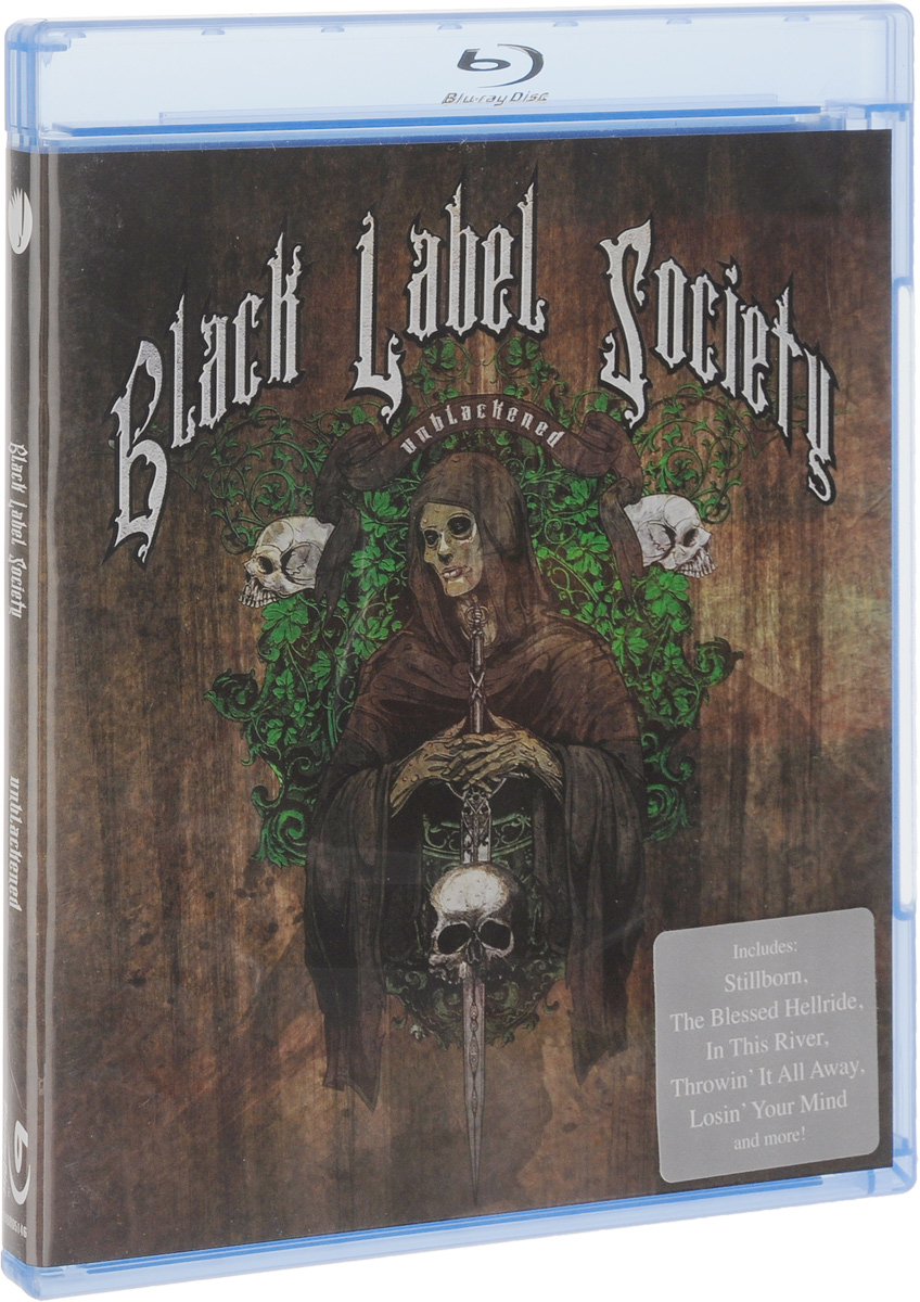 Black Label Society: Unblackened (Blu-ray) поло asics футболка поло m club gpx polo