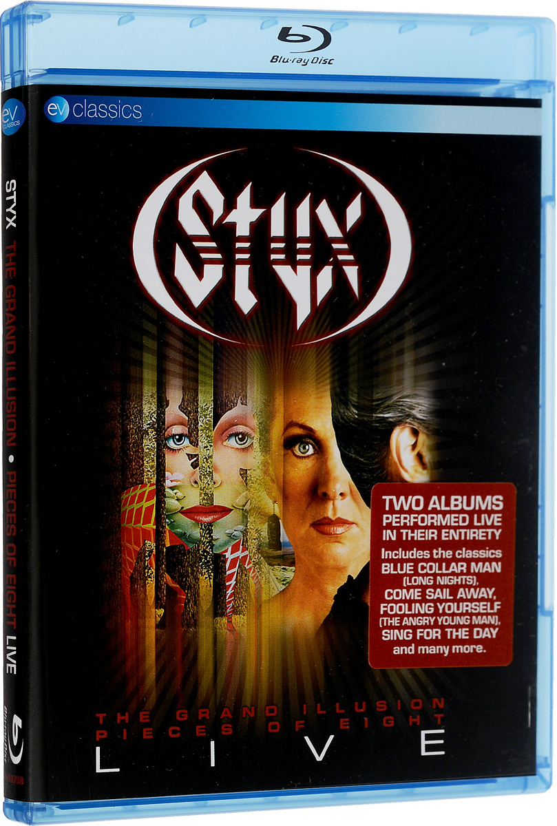Styx: The Grand Illusion And Pieces Of Eight: Live (Blu-ray)