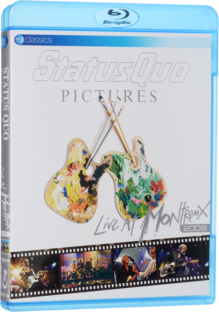 Status Quo. Pictures: Live At Montreux 2009 (Blu-Ray) купить