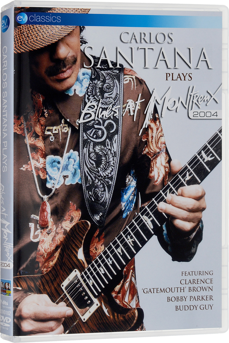 Carlos Santana: Plays Blues At Montreux 2004 programs in aid of the poor sixth edition