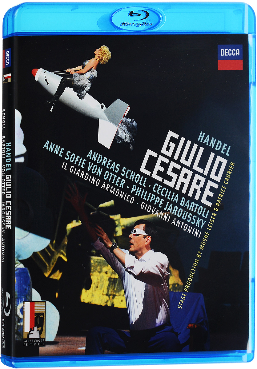 Handel, Giovanni Antonini: Giulio Cesare (Blu-ray)