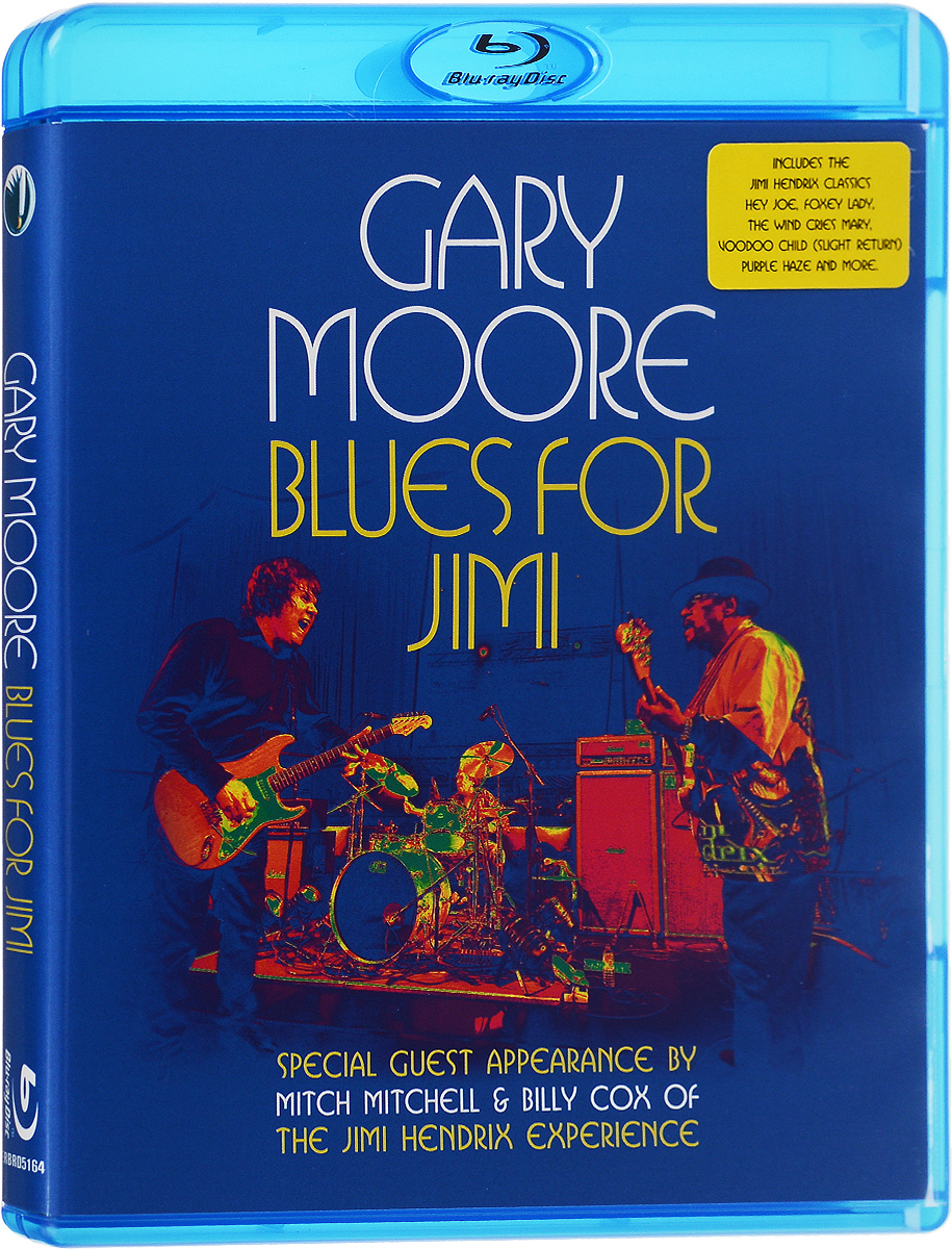 Gary Moore: Blues For Jimi (Blu-ray) francis rossi live from st luke s london blu ray