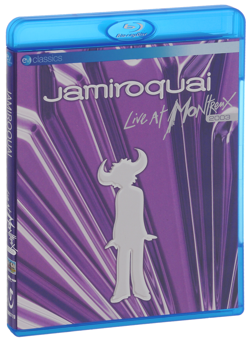 Jamiroquai. Live At Montreux 2003 (Blu-ray) deep purple with orchestra live at montreux 2011 blu ray