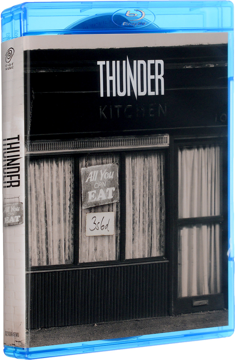 Thunder. Thunder (2 CD + Blu-Ray) 2 1 blu ray