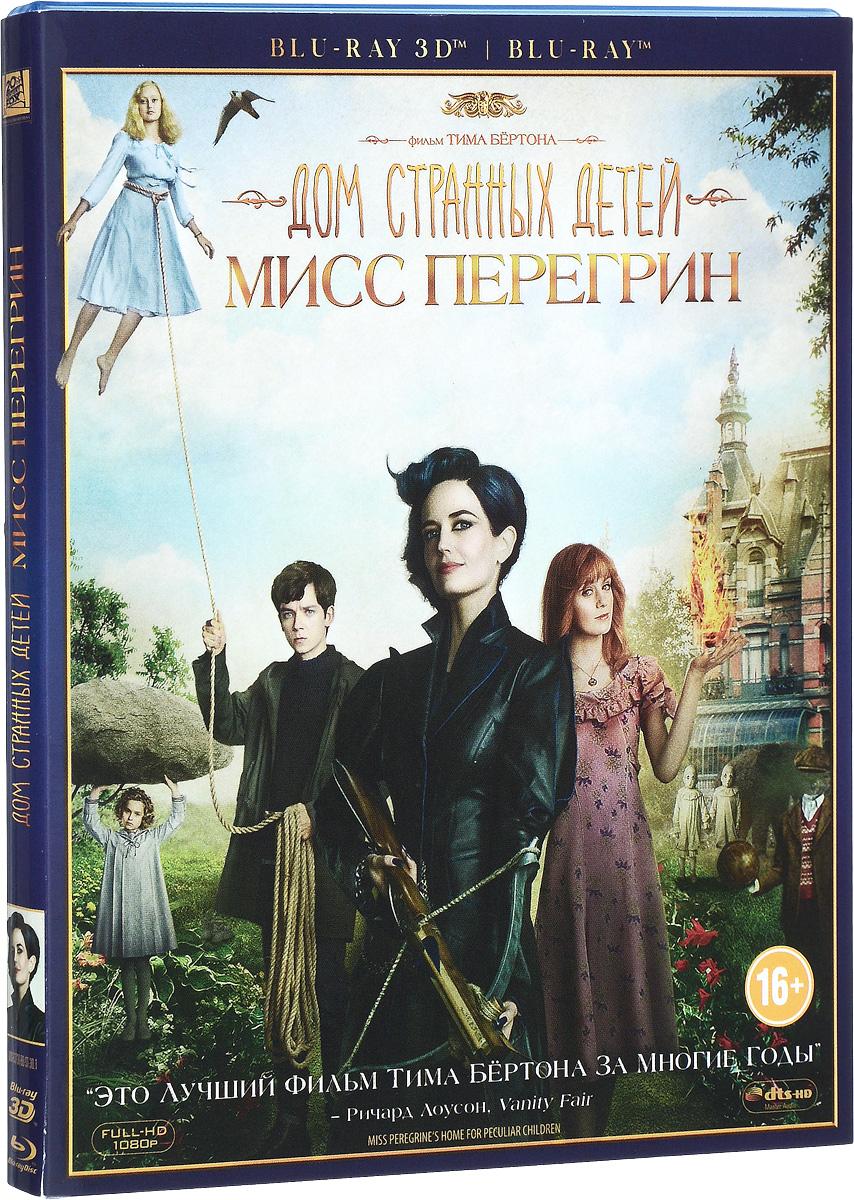 Дом странных детей Мисс Перегрин 3D (Blu-ray)
