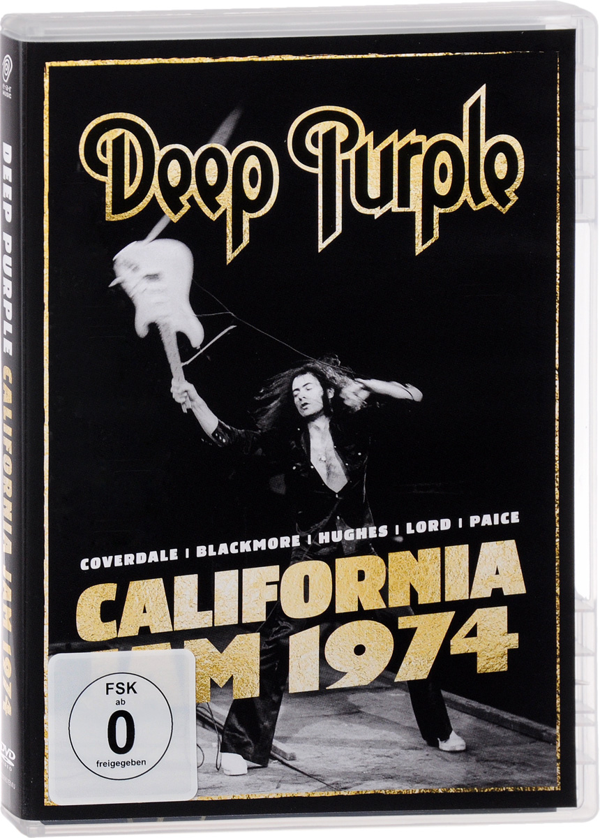 Deep Purple: California Jam 74 deep purple deep purple stormbringer 35th anniversary edition cd dvd