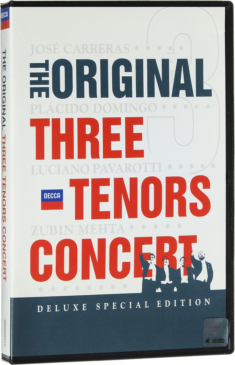 The Original Three Tenors Concert (2 DVD) блокада 2 dvd