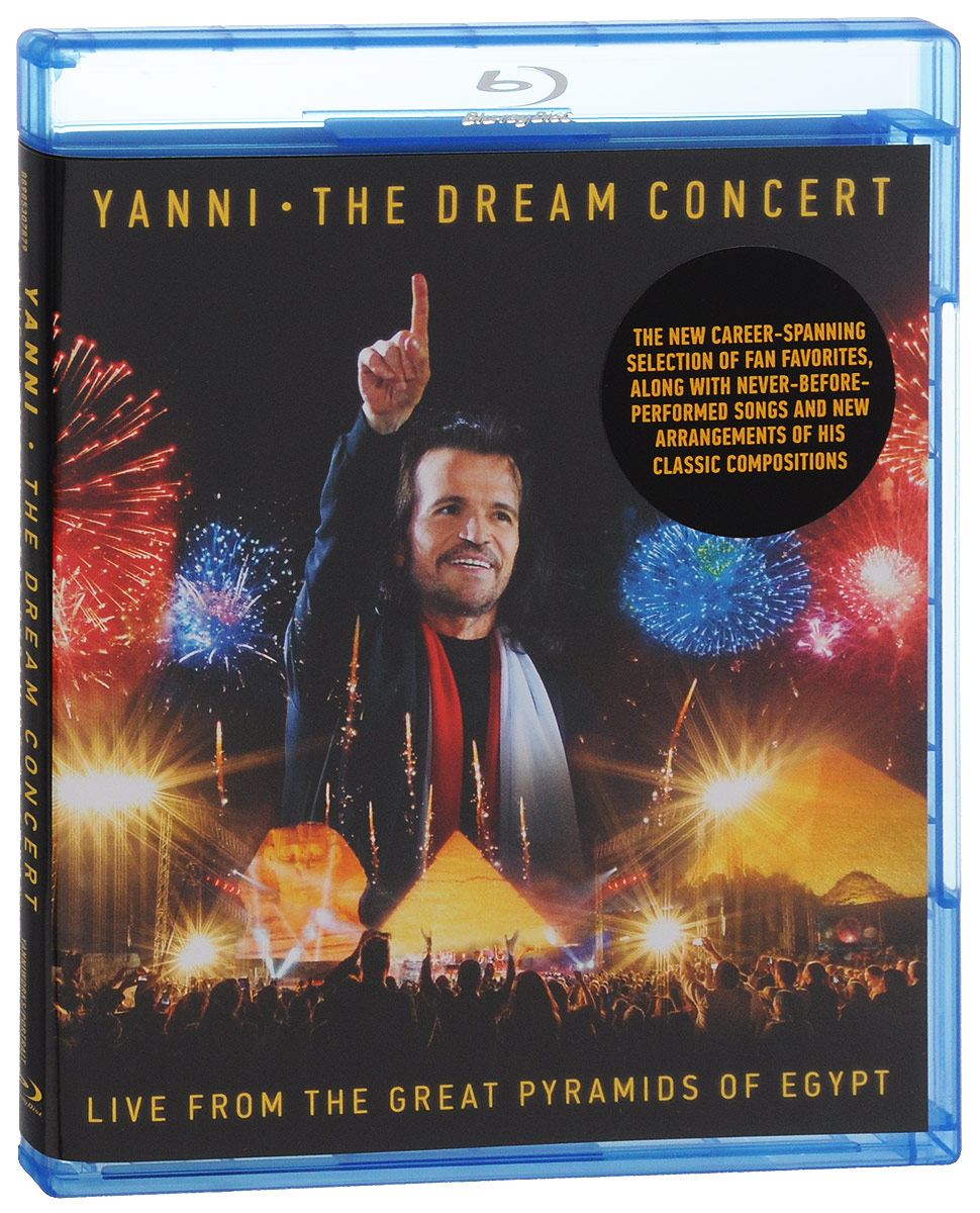 Yanni. The Dream Concert: Live From The Great Pyramids Of Egypt (Blu-ray) shania still the one live from vegas blu ray