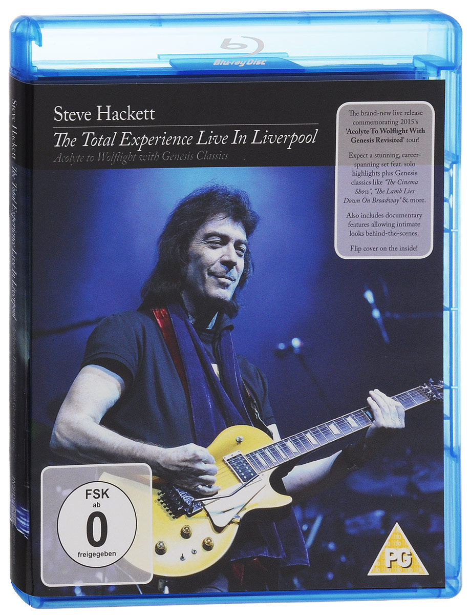 Steve Hackett: The Total Experience Live In Liverpool (Blu-ray) bruce springsteen live in dublin blu ray