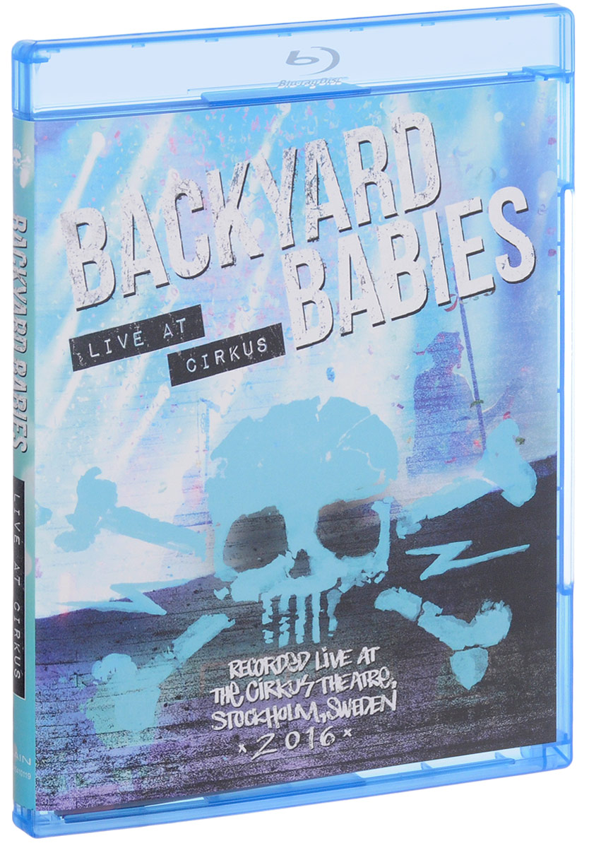 Backyard Babies: Live At Cirkus (Blu-ray) чехол flip case для explay neo черный