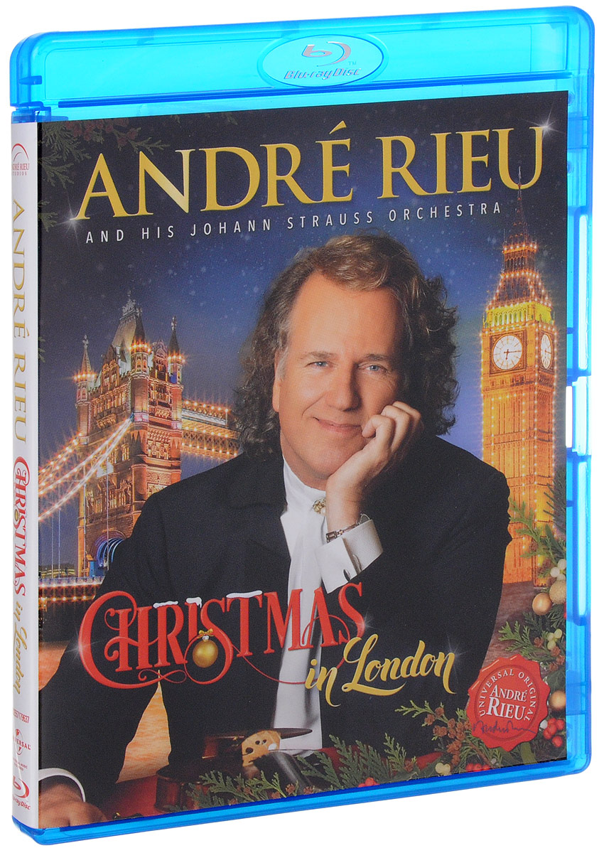 Andre Rieu: Christmas In London (Blu-ray)