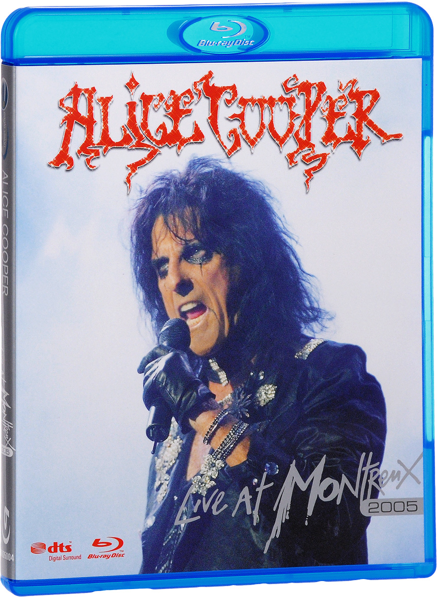 Alice Cooper: Live At Montreux 2005 (Blu-ray) alice cooper super duper alice cooper welcome to his nightmare blu ray