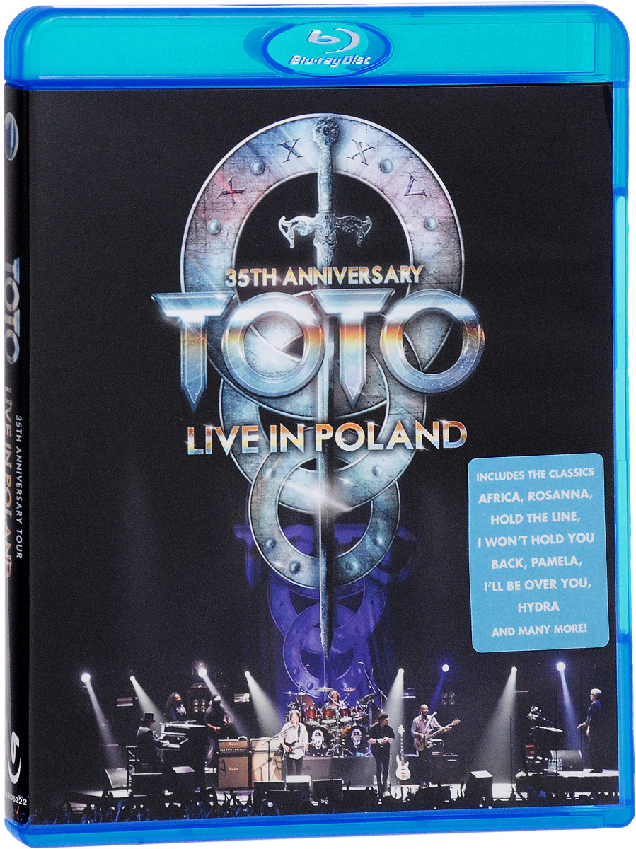Toto: Tour Live In Poland. 35th Anniversary (Blu-ray) francis rossi live from st luke s london blu ray