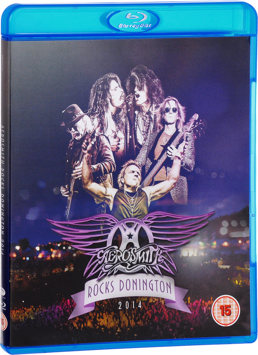 Aerosmith: Rocks Donington 2014 (Blu-ray) aerosmith devil s got a new disguise – the very best of aerosmith cd