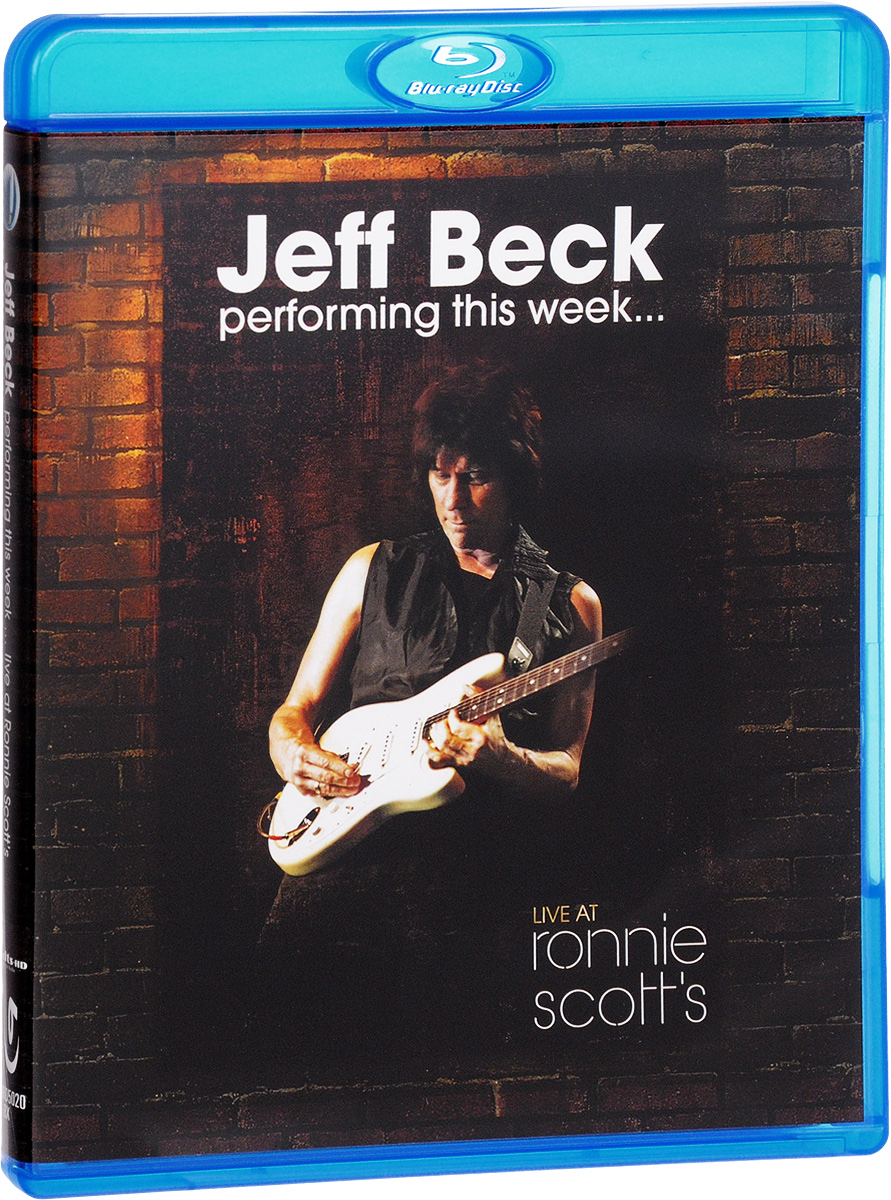 Jeff Beck - Performing This Week: Live at Ronnie Scott's (Blu-ray) jeff beck live 180 gram