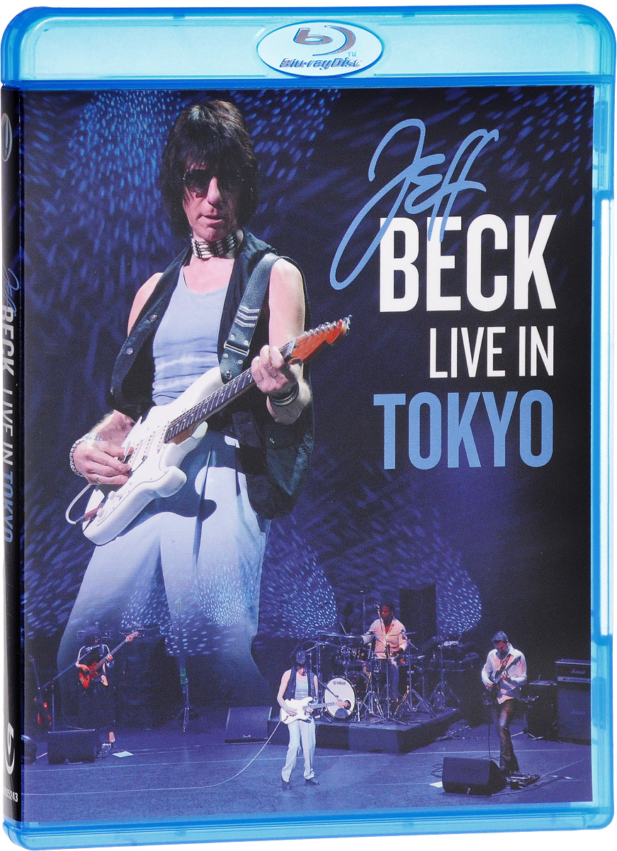 Jeff Beck: Live In Tokyo (Blu-ray) foreigner live in chicago blu ray