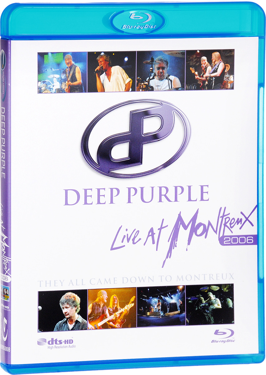 Deep Purple: Live At Montreux 2006 (Blu-ray) europe live at shepherd s bush london blu ray
