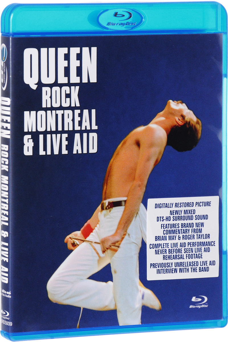 Queen: Rock Montreal & Live Aid (Blu-ray) save the queen ohdd повседневные брюки