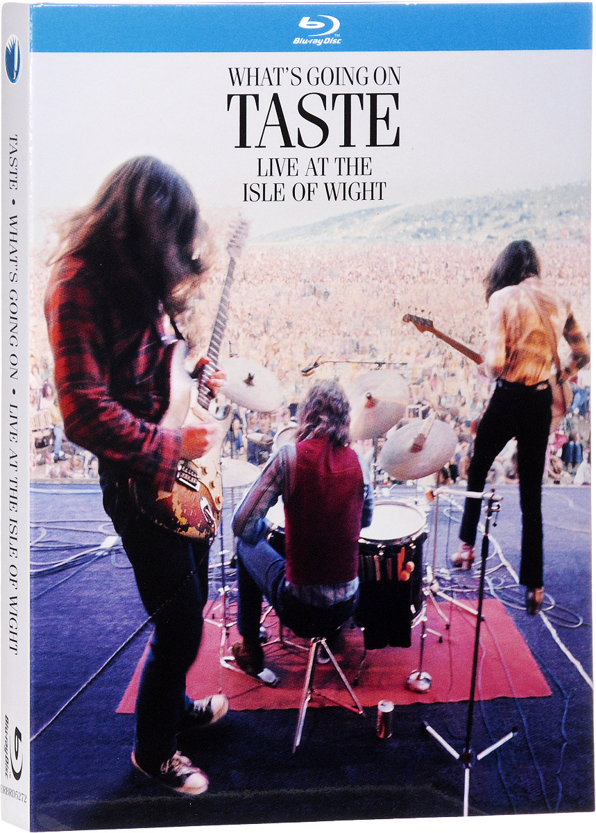 Taste: What's Going On - Live At The Isle Of Wight (Blu-ray) europe live at shepherd s bush london blu ray