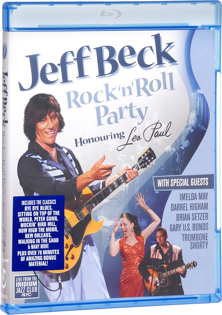 Jeff Beck: Rock'N'Roll Party - Honouring Les Paul (Blu-ray) jeff lemire the new 52 future s end vol 1