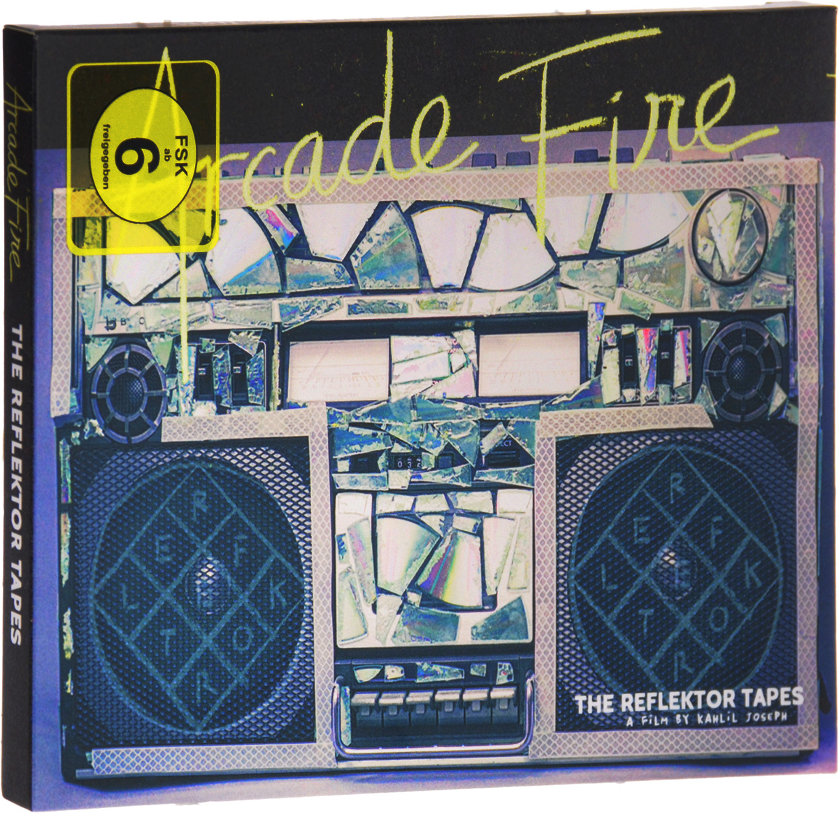 Arcade Fire: The Reflektor Tapes / Live At Earls Court (2 DVD) arcade fire arcade fire suburbs