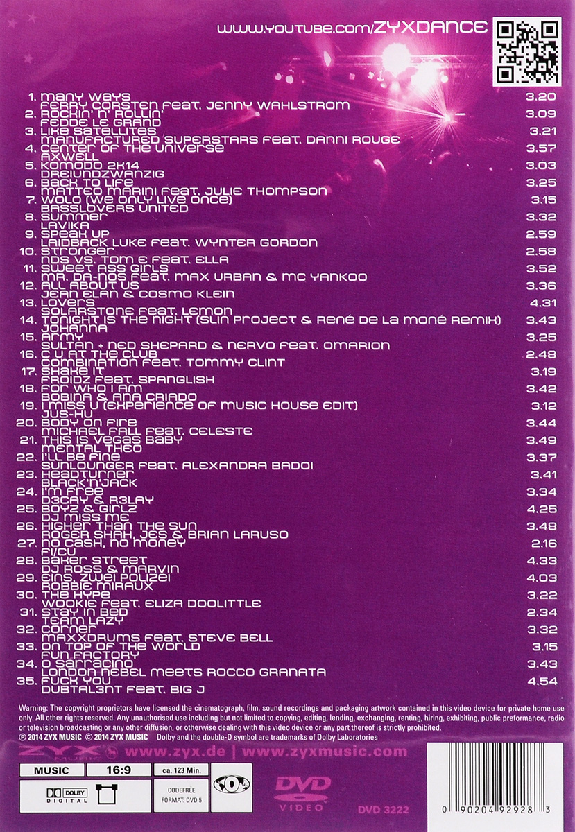Club Tunes 10 ZYX Music